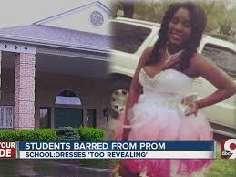 two cincinnati s not allowed at prom for being improperly dressed