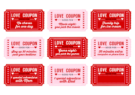 printable love coupons printable pages printable love coupons printable love coupons for kids on valentine s day catch my