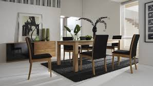 beautiful image of dining room decoration with rug under dining table top notch image of