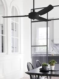 Beacon Lighting Subiaco Futura Eco 132cm Fan With Led Light In Black At Beacon