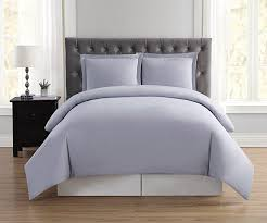 truly soft everyday lavender full queen duvet mini set b074xh2l1k king