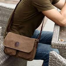 Men's <b>single shoulder bag</b> Canvas Messenger Shoulder Satchel ...