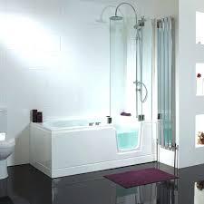 walk in bathtub with shower bathtubs idea walk in tubs with jets walk in shower acrylic walk in bathtub