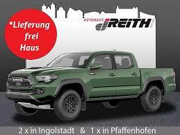 All information applies to u.s. Toyota Tacoma Trd Pro 4x4 Double Cab 6a Sb Us Car Modell 2021 Apple Carplay Neuwagen Bei Autohaus J Reith Gmbh Ingolstadt