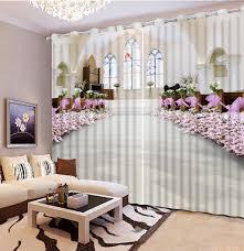 Printed Curtains Living Room Online Buy Wholesale 3d Printed Curtains From China 3d Printed
