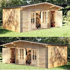 summer house office. Wrekin Log Cabin 4.5m X 3.5m Summerhouse, Office, Studio, Garden Room, Summer House Office A