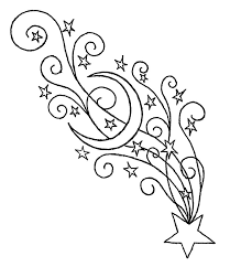 Small Picture Star Coloring Page Great Charming Christmas Tree Star Coloring