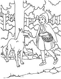 Pics Photos Hood Colouring Pages Picture Red Riding Hood Coloring