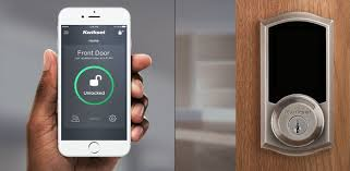 front door appMobile App for Premis Smart Lock  Kwikset