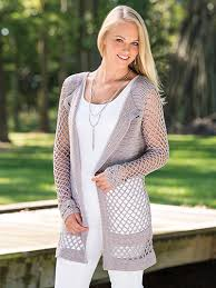 Crochet Cardigan Pattern Enchanting Crochet Clothing Downloads Velana Cardigan Crochet Pattern