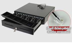 New Z420 Five Grid Third Gear Lock Cash Drawer Pos Register Box