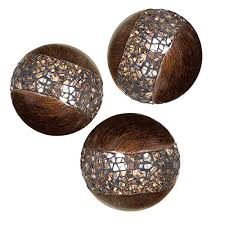 Cheap Decorative Balls Impressive Decorative Balls For Bowls Creative Scents Walnut Orbs And Vases Set