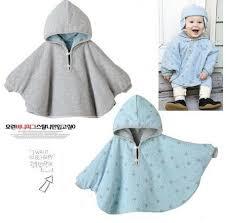 Fleece Poncho Pattern With Hood Stunning Fashion Combi Baby Coats Boys Girl'S Smocks Outwear Fleece Cloak