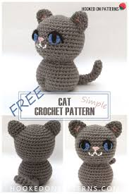 Free Crochet Cat Patterns Fascinating Simple Free Crochet Cat Pattern Crochet Bloggers Who Share