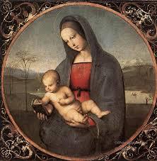 4 madonna with the book conneile madonna renaissance master raphael