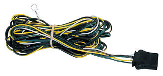 towing products kra international p n h2504f mwb hk 16 gauge wishbone 4 way 25 ft trailer wire harness can be easily installed as a replacement to any trailer wire application and