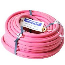 hose 3 8in red rubber 150 0bm red