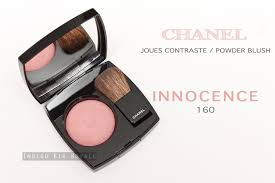 chanel 160. chanel joues contraste / powder blush in \u0027innocence\u0027 (160) chanel 160 l