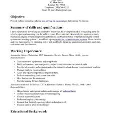 Automotive Technician Resume Nail Technician Resume Example Examples Of Resumes 90