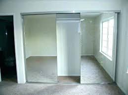 mirror sliding closet doors sliding closet doors for bedrooms triple track sliding closet doors bedroom closet