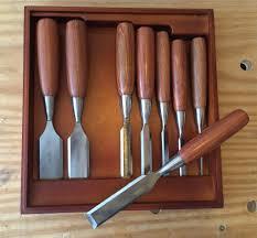 woodriver tools. woodriver 6 piece bench chisel set woodriver tools