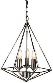 diamond 3 light pendant ceiling light