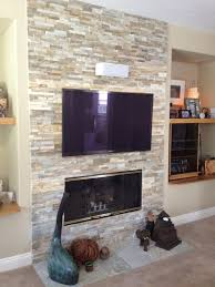 fireplace makeover cost redo with stone veneer refacing