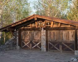 rustic garage doorsRustic Garage Door  Houzz