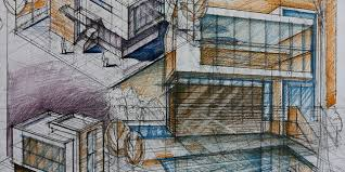 modern architectural sketches.  Architectural The Best Drawing Exercises For Modern Day Architect Inside Architectural Sketches P