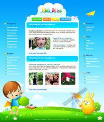 Free Templates For Kids Free Kids Website Template Popteenus Com