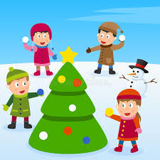 Christmas Tree And Kids Royalty Free Stock Images  Image 26951929Christmas Tree Kids
