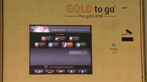 Gold Vending Machine Nyc Gorgeous ATM In Front Of Midtown Rare Coin Store Offers 'Gold To Go' CBS