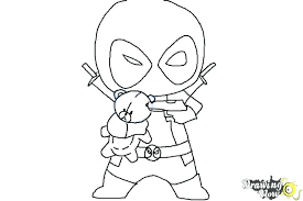 Coloring Pages Deadpool Coloring Book Cover Characters And Color