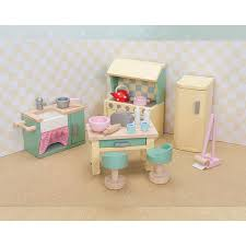 cheap doll houses with furniture. LTV Daisylane Kitchen Furniture Set Cheap Doll Houses With