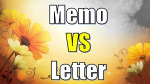 Letter Vs Memo Difference Between Letter And Memo Youtube