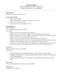 Chef Sample Resume Netdoma Stunning Sample Resume For A Cook
