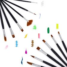 face paint brush set by artacts