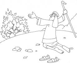 Small Picture Free Printable Moses Burning Bush Coloring Page 12 About Remodel