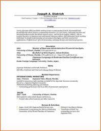 Resume Format In Word 2007 Resume Template Microsoft Word 2007 Template Resume Examples