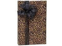 leopard safari spots gift wrapping paper roll 24 x 15