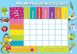 Weekly Behavior Chart For Home Behavior Charts School Online Charts Collection