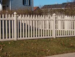 brown vinyl picket fence. Murfreesboro Picket Fence Brown Vinyl