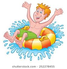 inner tube clipart. Perfect Tube Boy On An Innertube In Water For Inner Tube Clipart U