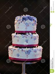 Delicious Decorated Wedding Cake Stock Photo Image Of Bakery