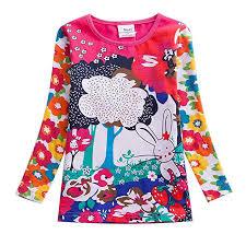 JUXINSU Toddler Girl Long Sleeve t-Shirt Cotton ... - Amazon.com