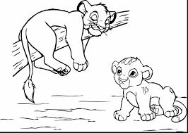 Lion King Coloring Pages Scar Kovu And Kiara Simba Nala With Page