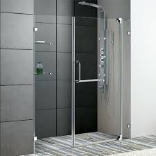 frameless sliding glass shower doors barn style frameless sliding glass shower door hardware