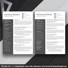 2019 Best Resume Template Word Modern Cv Template Cv Layout Cover Letter References Word Resume Professional Resume Resume Design Instant