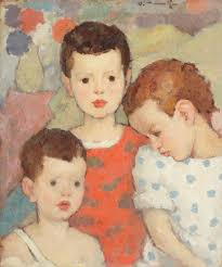three brothers the painter s children