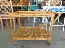bamboo bar cart. A4875 Rattan Bamboo Bar Cart R